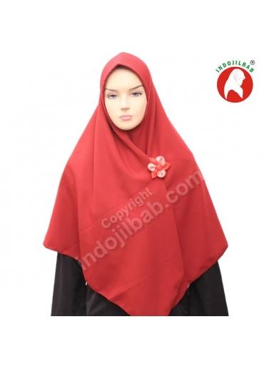 Aliyah Polos Merah 001
