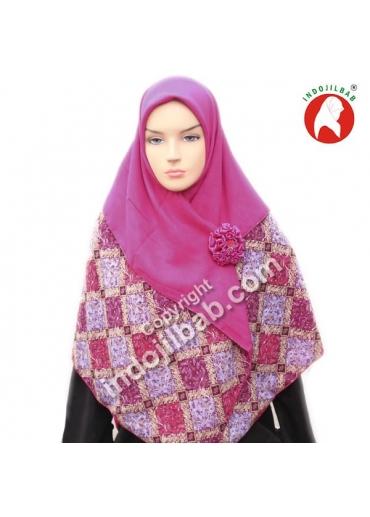 Sifon Batik Ungu