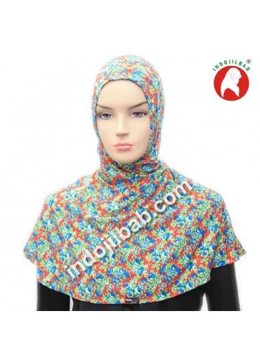 Ciput Antem (Anti Tembem) Maroko Bunga Hijau 001