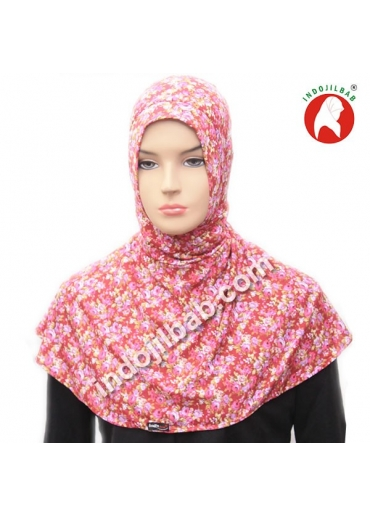 Ciput Antem (Anti Tembem) Maroko Bunga Ungu 001