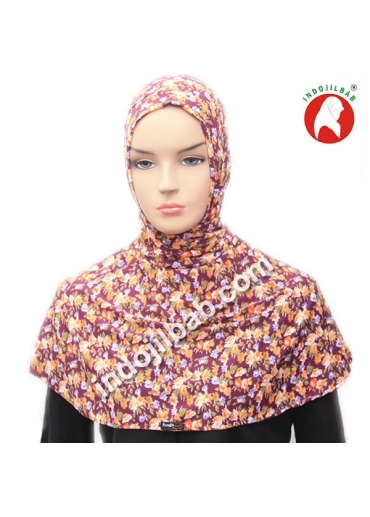 Ciput Antem (Anti Tembem) Maroko Bunga Ungu 002