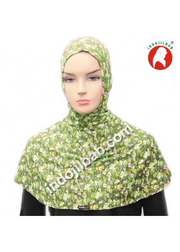 Ciput Antem (Anti Tembem) Maroko Bunga Hijau 002