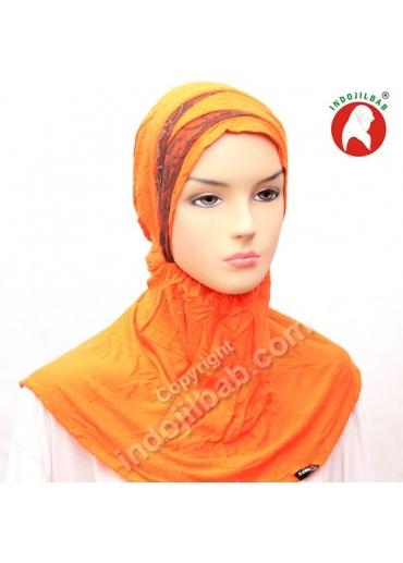 Ciput Maroko Renda Orange