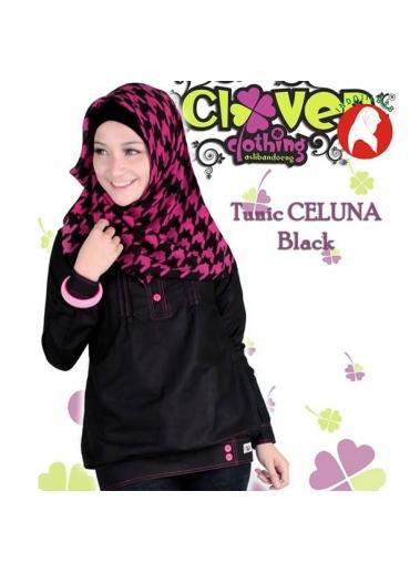 Tunik Celluna Black