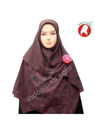 Two Face E Rose Ungu-Coklat