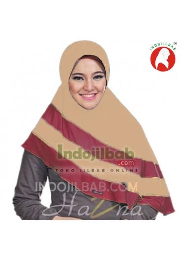 HB026 Coklat - Merah
