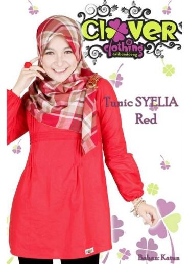 Tunic Syelia Red