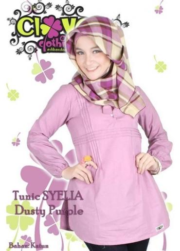 Tunic Syelia Purple