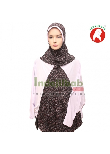 Jilbab Lengan Qafiya Putih 001