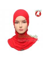Ciput Ninja Kaos Resleting Merah 001