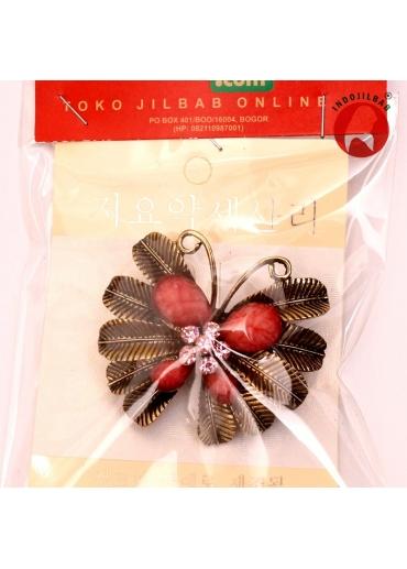 Bros Butterfly 1 Merah 001