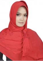 Pashmina Instan 01 Merah 001