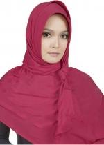 Pashmina Instan 01 Merah 002