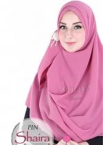 Pashmina Instant - PIN SHAIRA Pink Rose