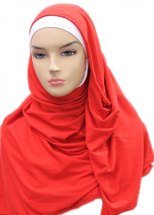 Tie Dye Polos Merah 002