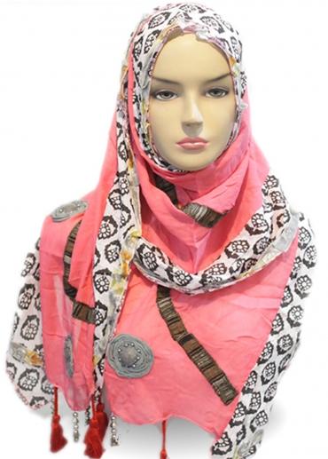 Shawl Rose Pink 001