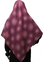 Silk Jumputan (Bdr Pinggir) Ungu 001