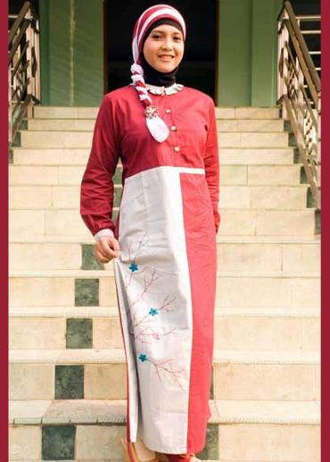 Sarimbit-03 Gamis Merah 001