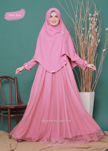 Firdaus Set Pink Rose 012 (PO)