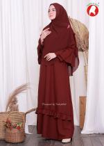 Aisyah Set Maroon (PO)