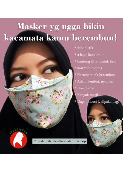 Masker Kain Premium Motif