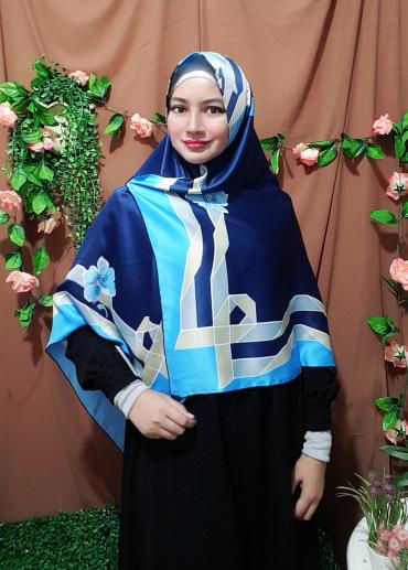 Flowers 01 Blue