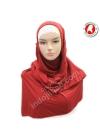 Tie Dye Polos Merah 001