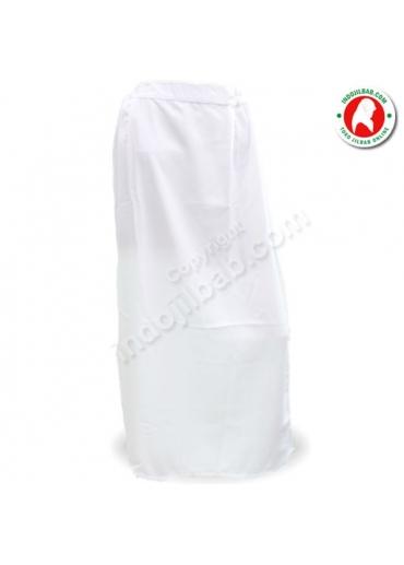 Rok Polos Putih 001